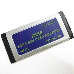 SD a videocámara SXS Pro lector de tarjetas adaptador Expresscard compatible con tarjeta SDHC SDXC de 128 GB