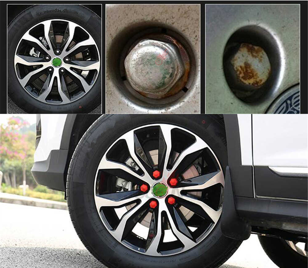 20pcs Car Wheel Hub Screw Cover For Toyota RAV4 Corolla Camry Land Cruiser Vios Reiz Corolla EX Anti Dust Protection
