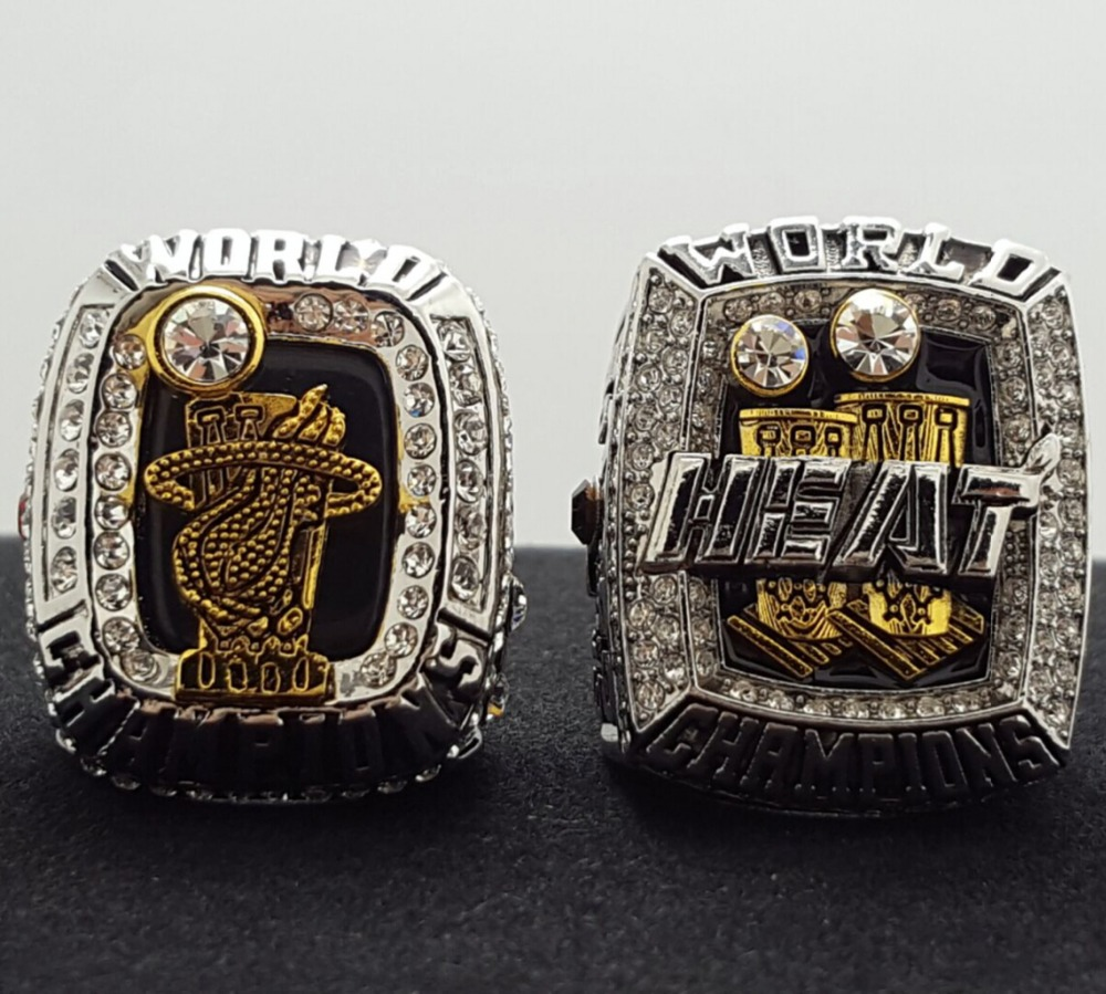 2012 2013 2ps Miami Heat Basketball Championship Ring Replica Size 10 Us Vip James The Best Christmas Gift In Rings From Jewelry Accessories