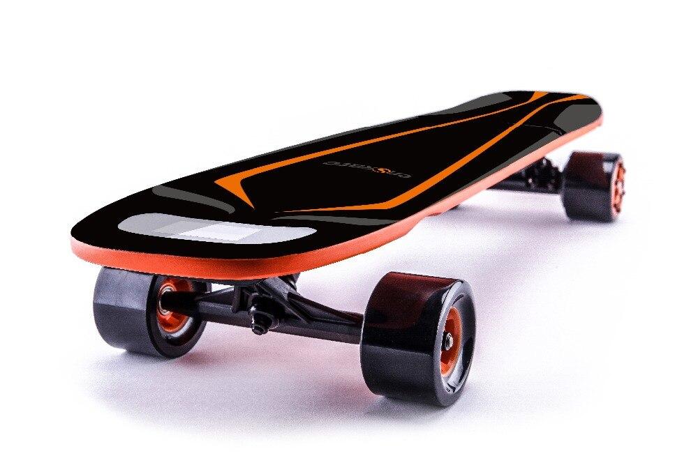 Woboard S skateboard électrique Longboard Conseil télécommande 4 Roues Double Moteurs 500 W avec écran led 4 Vitesse Modes
