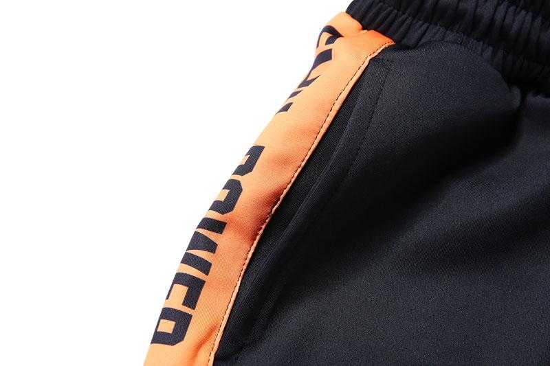 Striped Patchwork Harem Pants 7