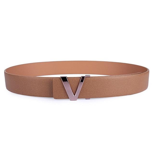 Hot New Leather Luxury Belt For Men