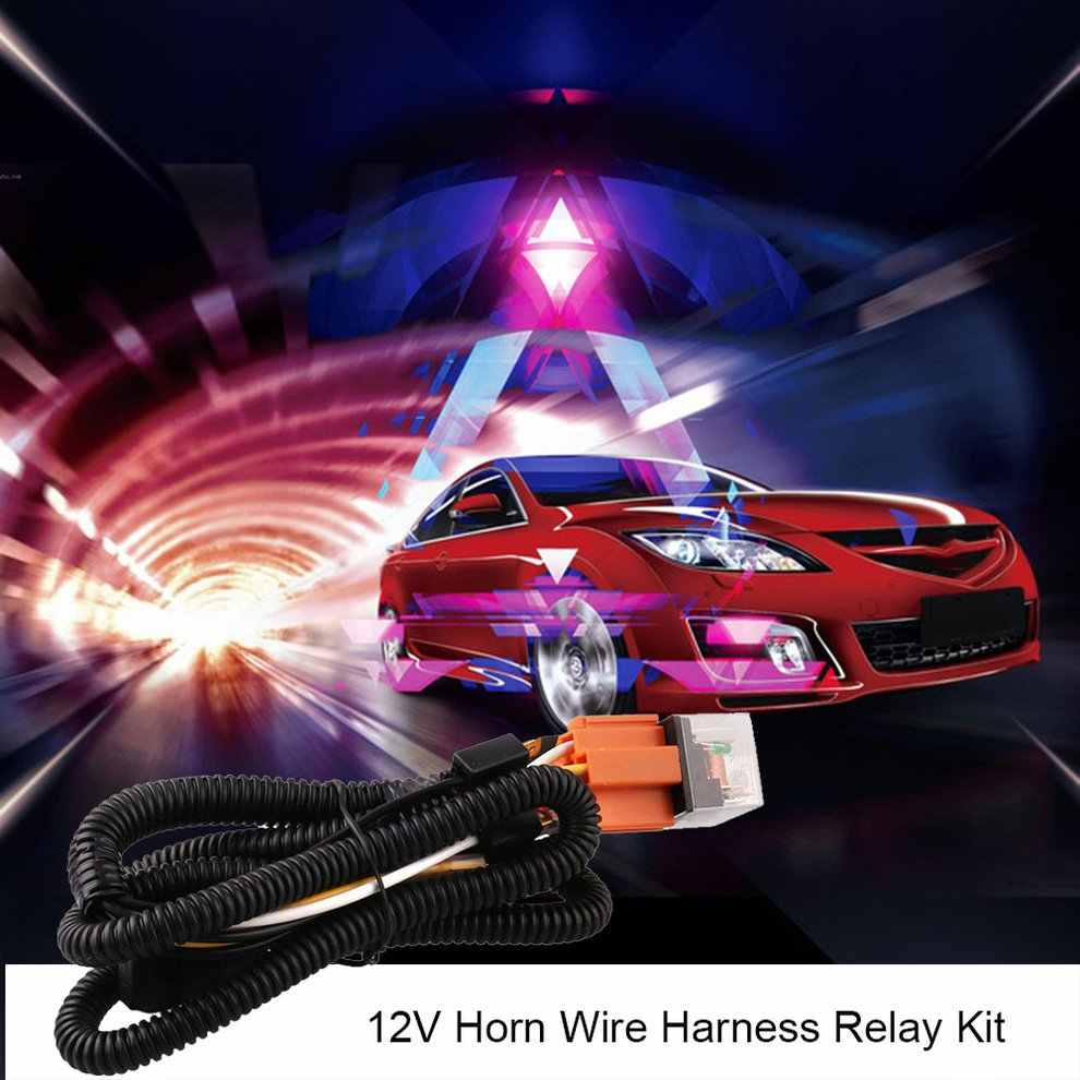 12 V Speaker Harness Relay Kit Universal Sound System SD USB MP3 Motor Audio Remote Control Stereo 2 Speaker Tahan Air