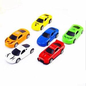 Image 5 - 5ピース/ロットプルバックカーのおもちゃ車子供レーシングカー赤ちゃんミニ漫画のプルバック子供のおもちゃボーイギフトwyq