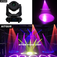 10lot Stage lighting equipment led moving head 3 facet prism lyre spot 180w led moving head light