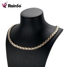 Женское магнитное ожерелье rainso для лечения артрита Женская