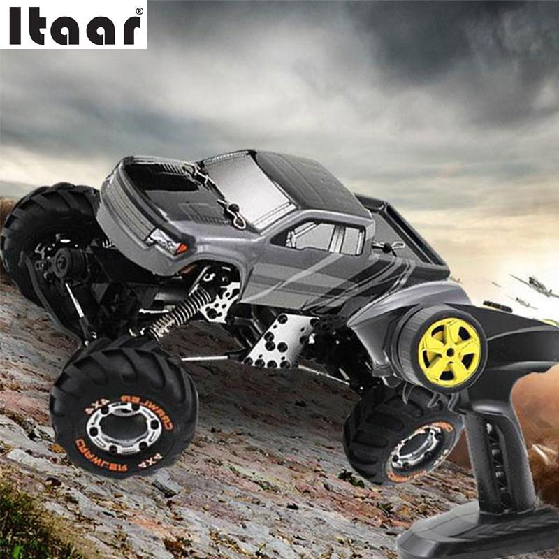2098B 1:24 2.4Ghz Remote Control Rock Crawler Driving Car Model EU Plug