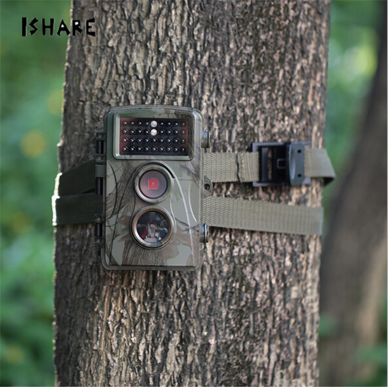 H3 Hunting Camera Digital Scouting 12MP 720P Trail Camera Trap Wildlife IR Infrared LED Video Recorder Night Vision Cam free shipping wildlife hunting camera infrared video trail 12mp camera