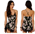 TFGS 2016 Lace Patchwork Halter V Neck Floral Sexy Shorts Rompers Womens Bodysuit Overall Jumpsuits