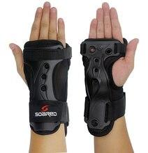 Niños adultos rodillo Snowboard esquí muñeca guardia mano soporte Brace  guantes protección equipo deportes seguridad Protector 2. c1726a28588