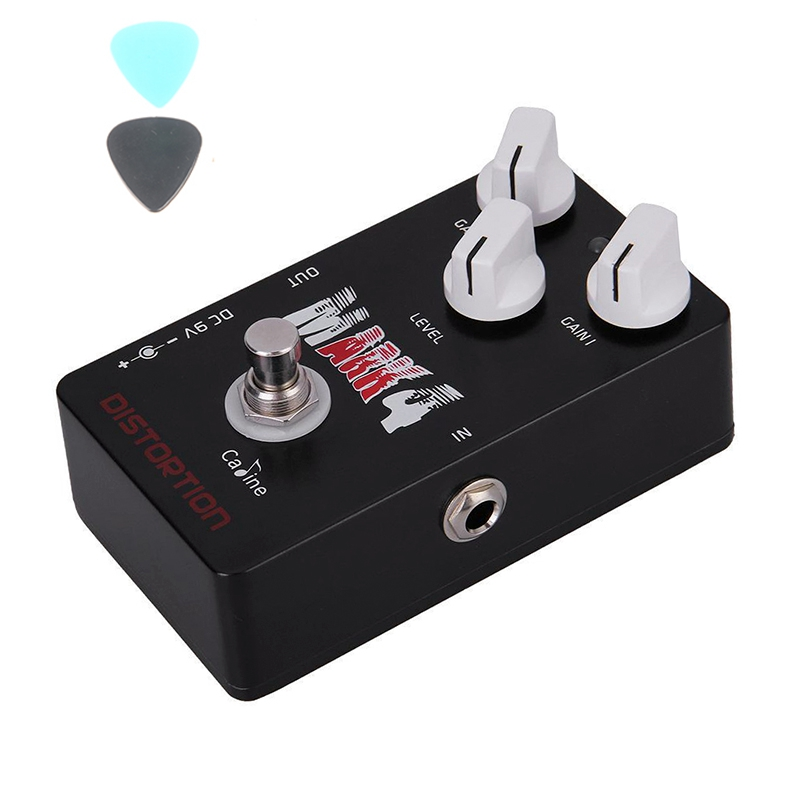 Caline CP-16 Mr Mark Distortion Guitar Effect Pedal Caline CP16 With True Bypass Pedals caline cp 26 guitar effect pedal snake bite reverb effect pedals true bypass design with delay effect no coloring sound