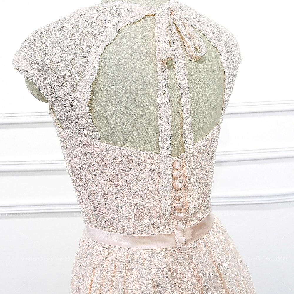 Fein Vintage Spitze Brautjungfer Kleid Fotos - Brautkleider Ideen ...