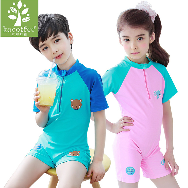 2d133f102 Child Swimming Romper Boys Girls Swimsuits Kids Bathing Suits Baby ...