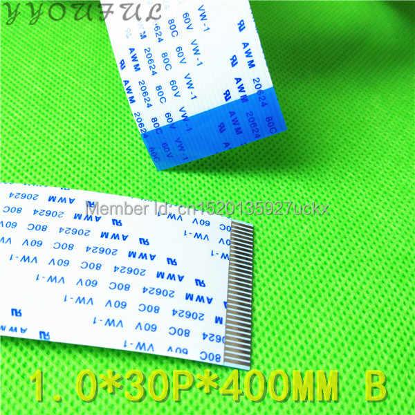 1 pc retail luar format besar printer suku cadang 30 pins FFC Datar kabel data untuk Konica 512 Vista JHF Leopard kepala kabel 40 cm