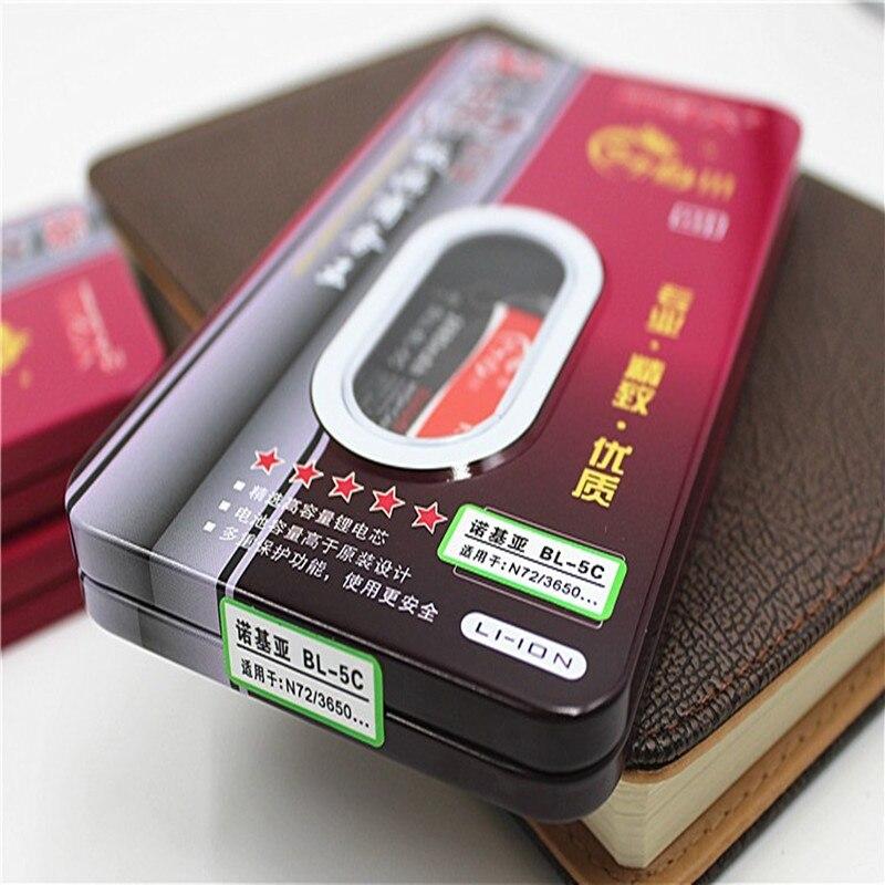 Новый 2680mAh BL 5C литий-ионный аккумулятор мобильного телефона для Nokia 1100 1200 2730c 3110 3120 5130 6230 6230i 6555 6630 7600 E50 N70 N72 N91