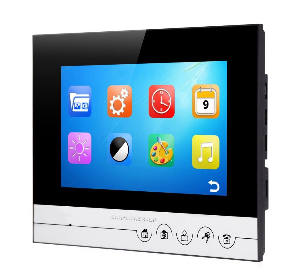 Free 8GB TF Video Recording Rfid Home Video Intercom Videophone 8 ...