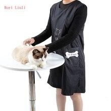 Банная одежда для кошек, собак, одежда для домашних животных, косметичка, рабочая одежда, анти-липкие волосы, анти-брызг воды, фартук, красота, одежда-Ruyi