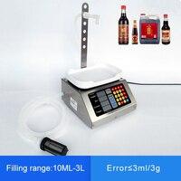 10ml 3L маленькая автоматическая машина для наполнения жидкостей с ЧПУ 110 V 220 V для наполнения напитков, молока, духов, подзагрузка, фасовочная в