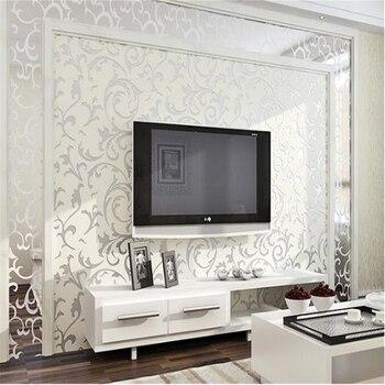 beibehang papel de parede Hot European classic wallpaper non-woven widening 3D wallpaper bedroom wallpaper for walls 3 d mural
