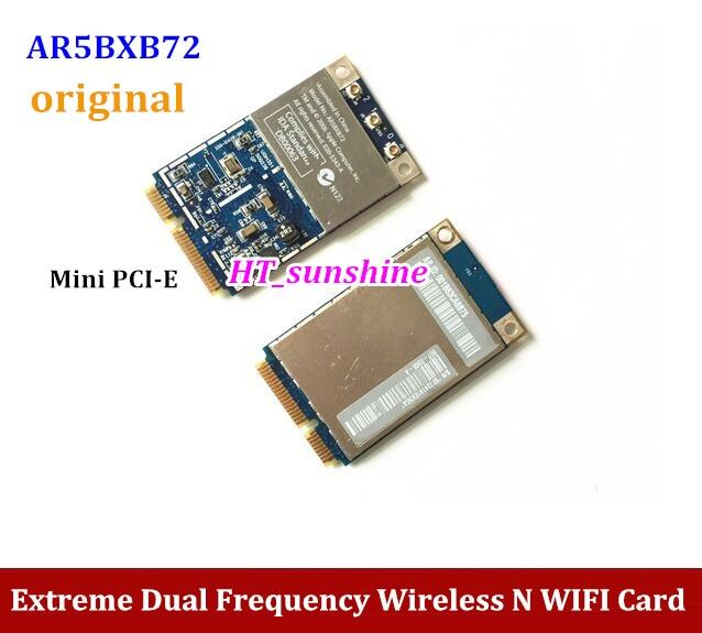 Original For  Atheros Airport Extreme Wireless 2.4G 5.8G Mini PCIE WIFI Card AR5BXB72