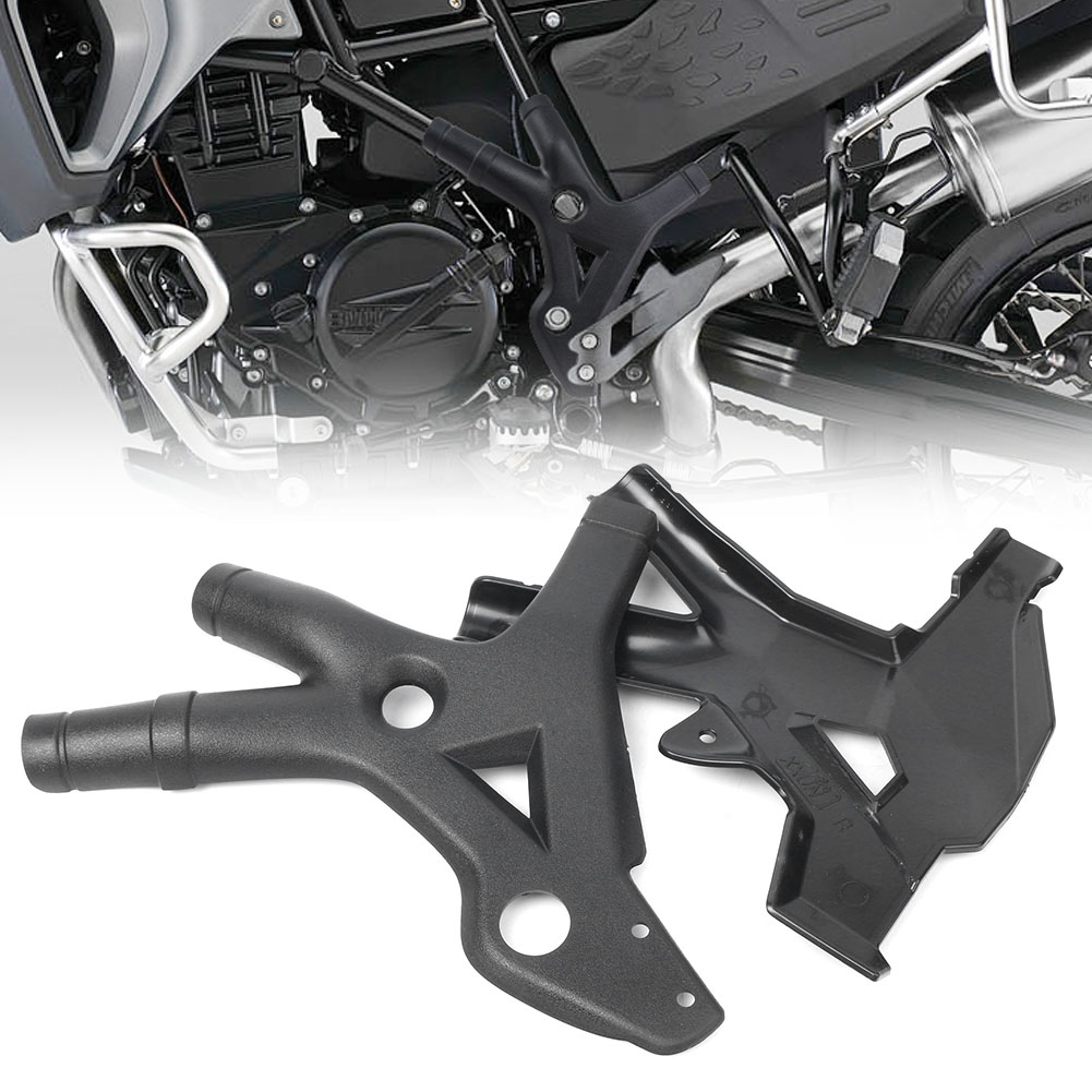 2x Motorcycle Side Frame Panel Guard Protector Cover For BMW F800GS F600GS 2008-2018 & F700GS 2013-2018 Durable ABS Parts