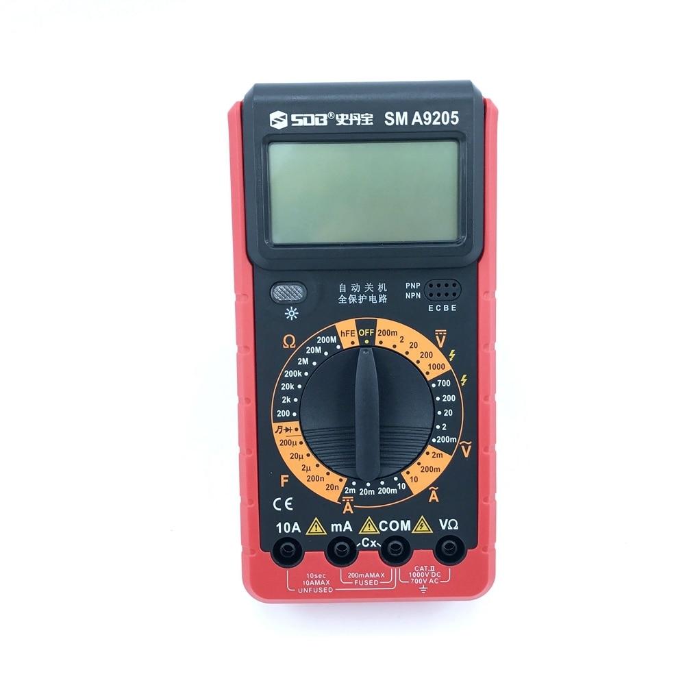 Skaitmeninis multimetras A9205 AC / DC ampermetro talpos voltmetras - Matavimo prietaisai - Nuotrauka 3