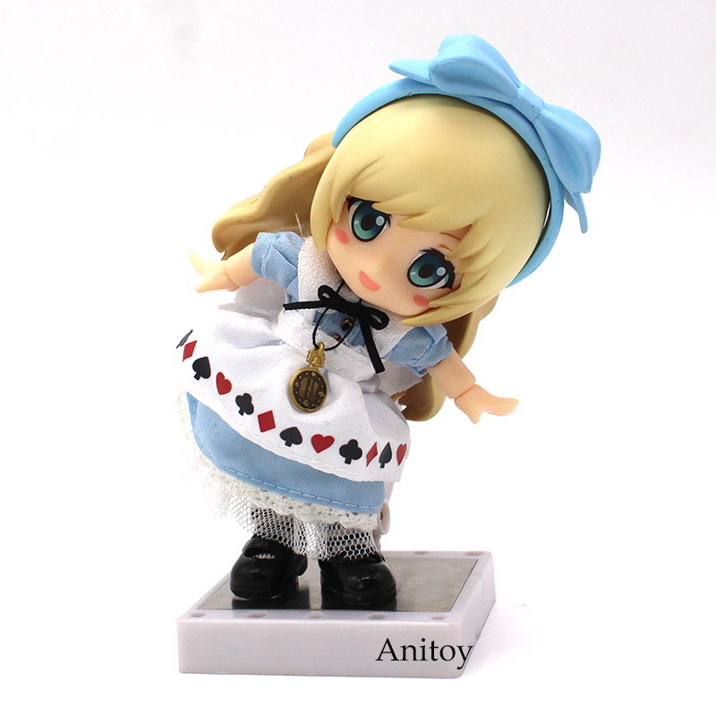 Alice Nendoroid 1/10 scale painted figure Real Clothes PVC Action Figure Collectible Model Toy 10cm KT3811 1