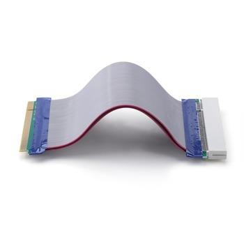 ALLOYSEED 0 19m miedziany kabel taśmowy PCI Sound Network przedłużacz karty graficznej konwerter płaski kabel taśmowy kabel taśmowy obsługuje urządzenia PCI tanie i dobre opinie CN (pochodzenie) Kable PCI NONE Dostępny w magazynie Extender Flat Ribbon Cable