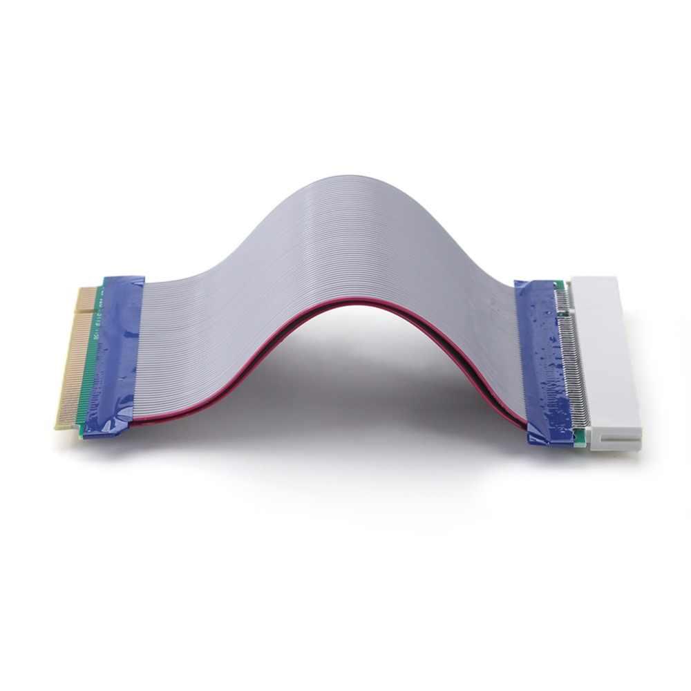 كابل شريط نحاسي من alloyبالدخول بطول 0.19 متر مع مهايئ للبطاقات البيانية والشبكة الصوتية PCI ويدعم أجهزة PCI
