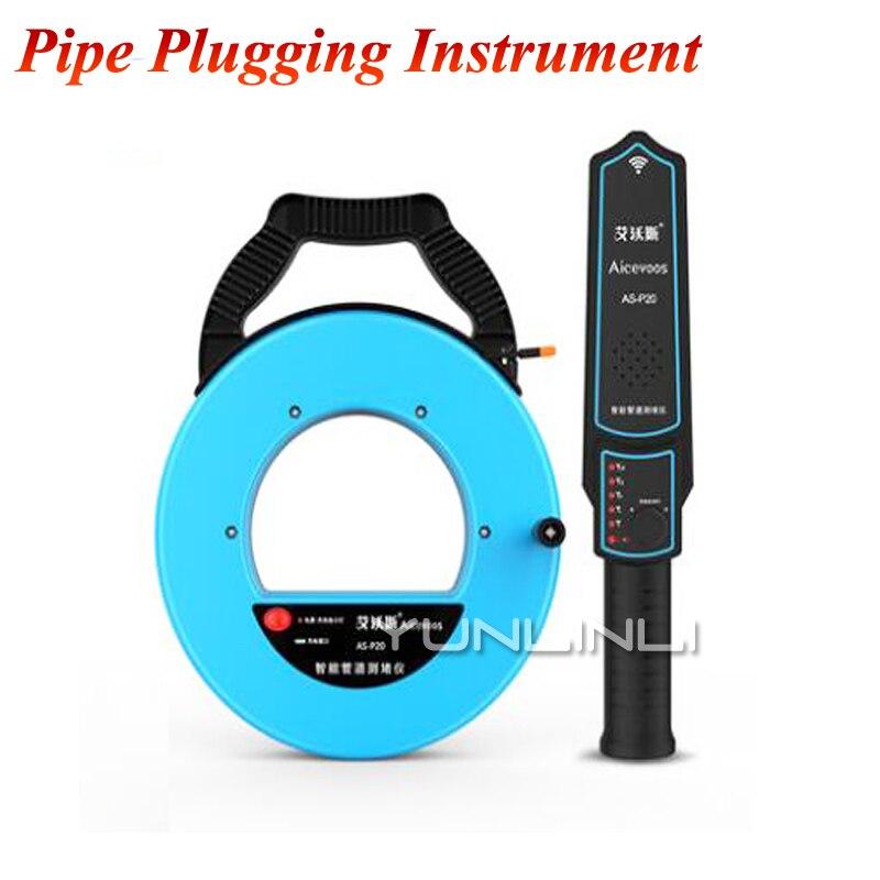 Dispositif de branchement de tuyau Type de charge détecteur de branchement tuyau métallique mural tuyau en PVC électricien AS-P d'instrument de branchement