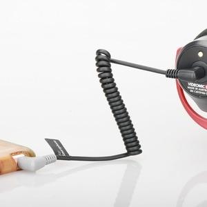 Image 4 - Ulanzi Adaptador de Cable de conexión TRS a TRRS, 3,5mm, para VideoMicro RODE, micrófono Go BY MM1, para iPhone 6 5, teléfono inteligente Android