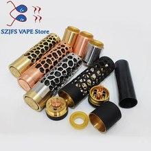 Kennedy 25 Kit Vindicator Mod 18650 20700 21700 Battery 26mm diamater brass red copper vape Vaporizer KIT vs SXK ATTO mtlMOD