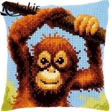 3d cross stitch kits monkey pattern knitting needle