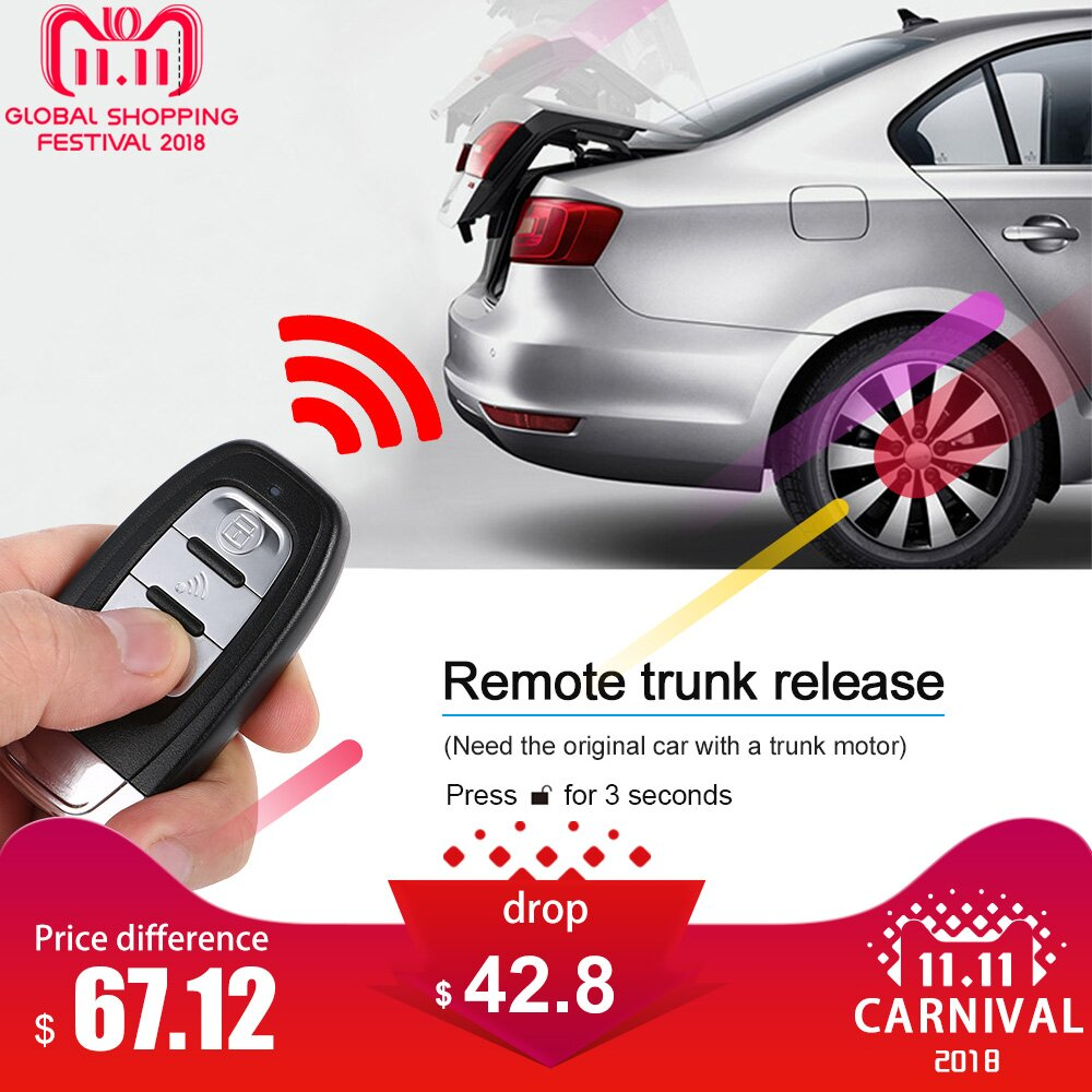 Auto Car Alarm Engine Start Stop Button Remote Start Open and Close Windows Version Smart Key PKE Passive Keyless Entry System pke smart car alarm system is with passive auto lock or unlock car door keyless go push button start stop remote start stop