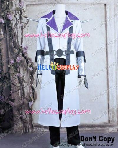 Yu Gi Oh Jack Atlas Wit Uniform Cosplay Kostuum Nieuwe H008
