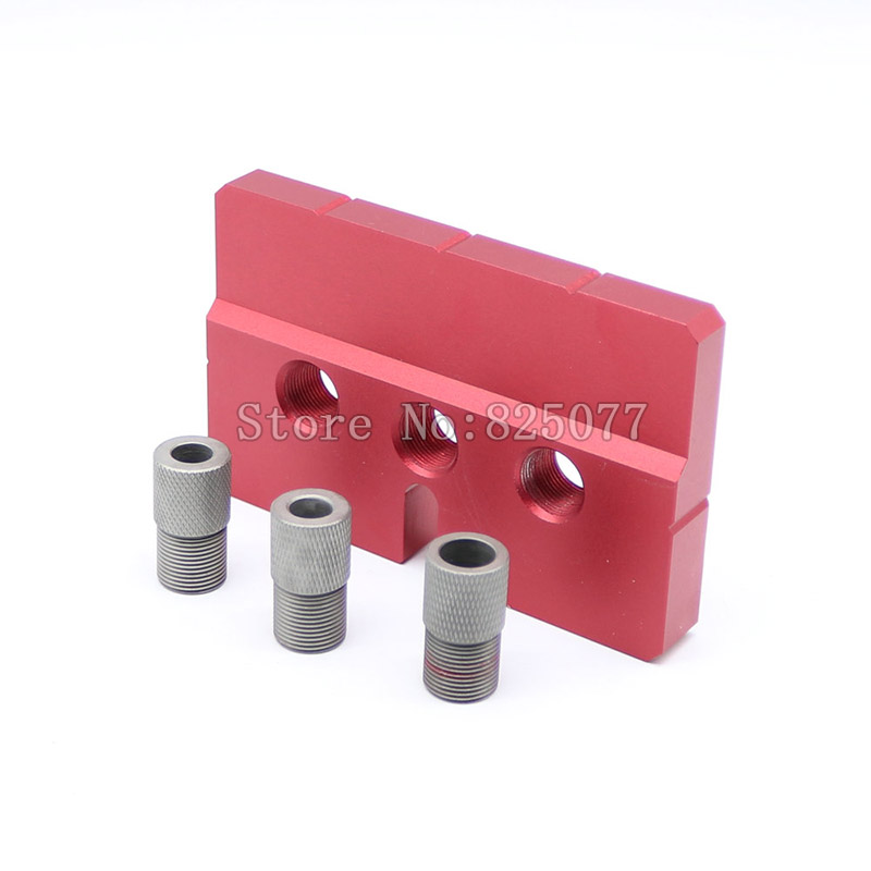 2018 New version woodworking hole puncher positioning drilling hole punch dowelling Jig DIY woodworking tool JF1120 in Tool Parts from Tools