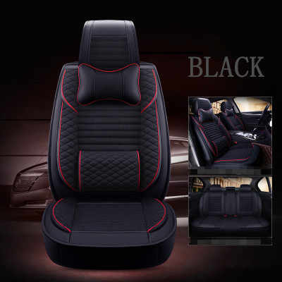 Tailored Fit Durable Black Rear Bench Seat Covers for Nissan Qashqai 07-14