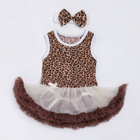 Baby Dresses 2015 Summer Sleeveless Cotton Bodysuit With Ball Gown Dress For 0 2 Years Newborn