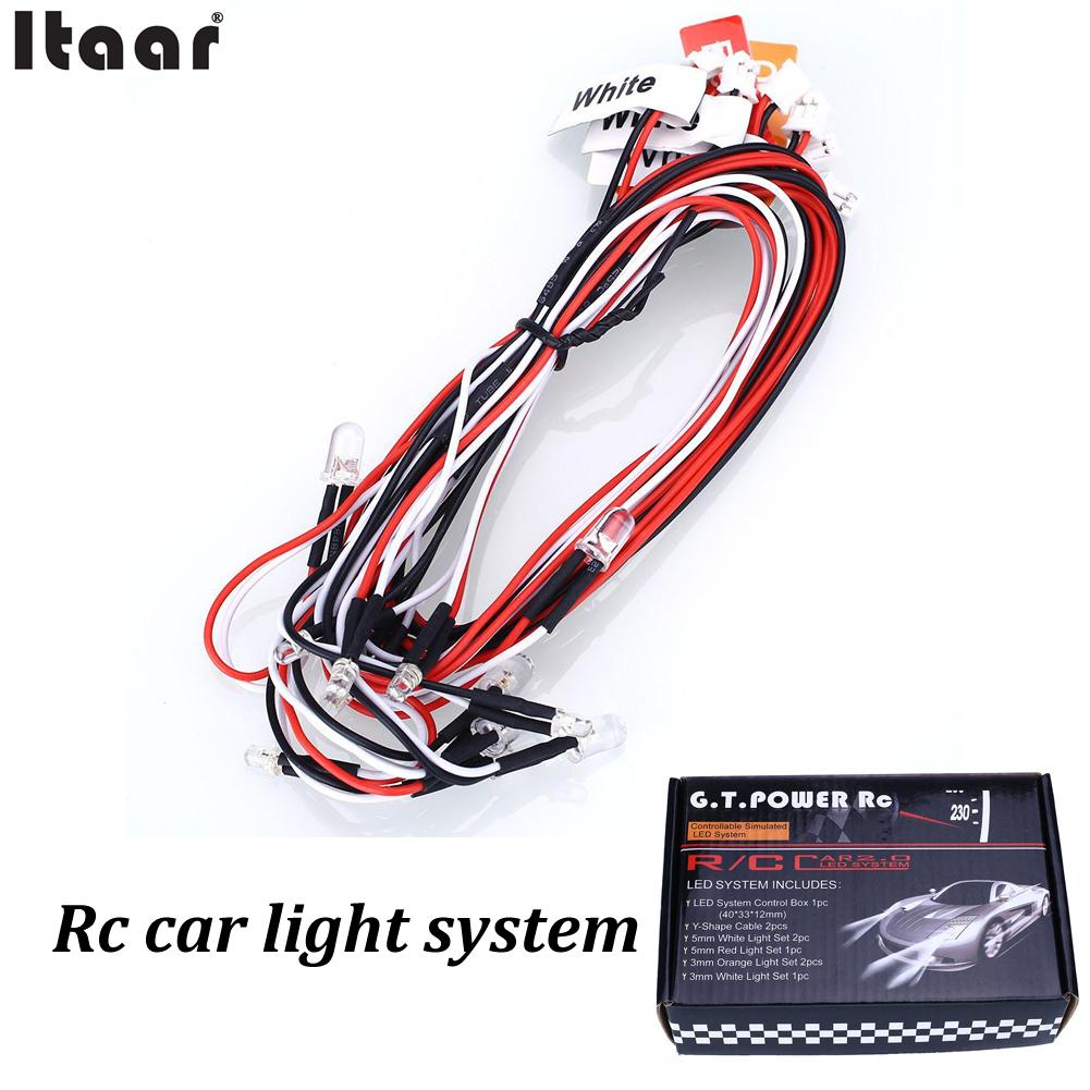 Led Light Rc Car Controller Circuit Gtpower System 12leds For Model Truck