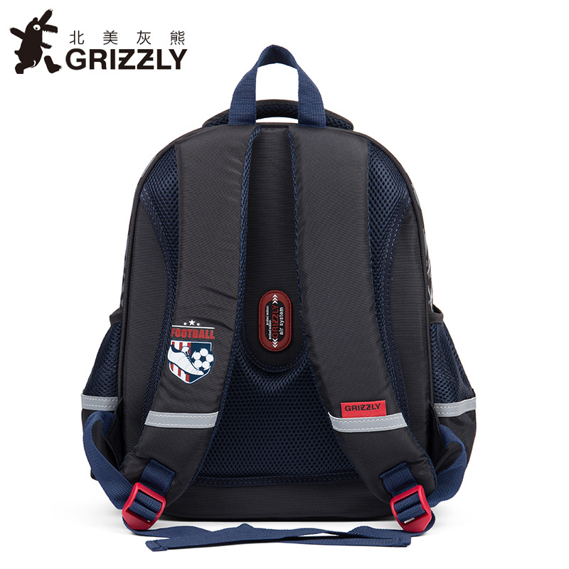 505cff514b GRIZZLY Children School Bags for Boys Racing Car Military Theme Orthopedic Backpacks  Primary School Bags for Grade 1-4 Kids Bags