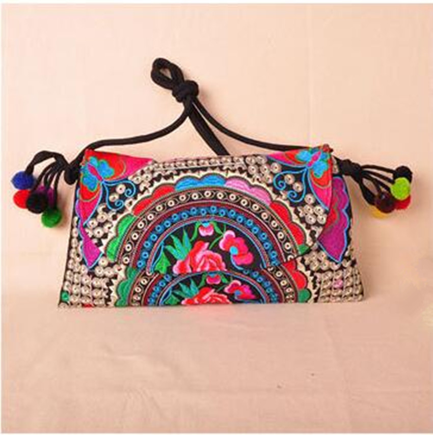 245c3092c80 Hot Women Fashion Embroidery Shopping bag!Multi National Floral Embroidered  Lady Shoulder Crossbody bags Bohemian Canvas Carrier-in Shoulder Bags from  ...