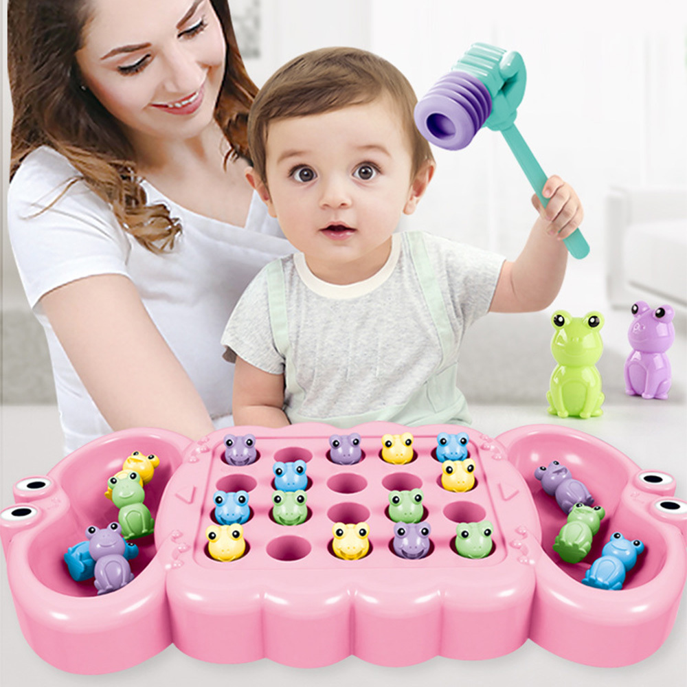 Baby Toddler Educational Knocking Worm Game Toy Teaching Developmental Toys