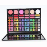 78 Color Cosmetic Palette Kit Set Eyeshadow Blush Lipgloss For Women Girl