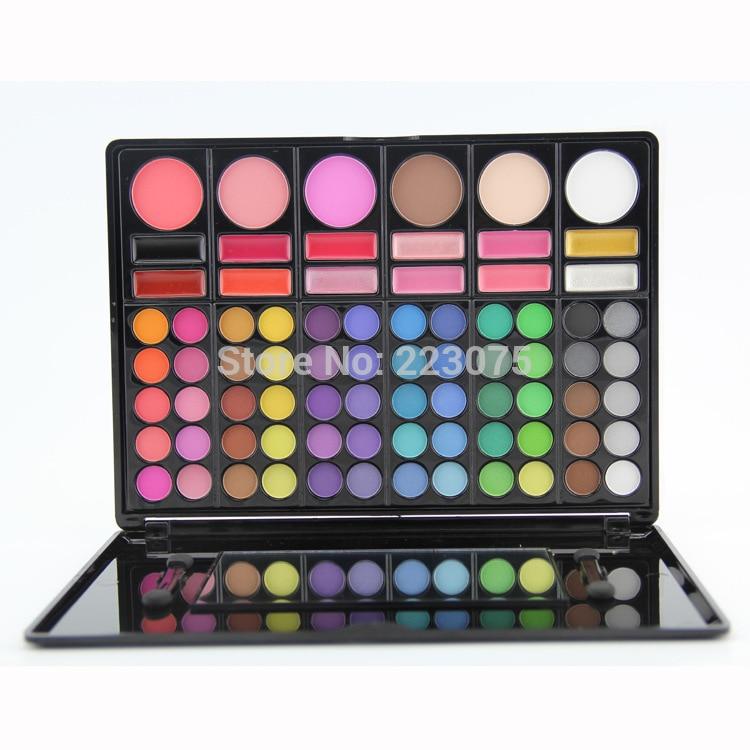 78 Color Cosmetic Palette Kit Set Eyeshadow + Blush + Lipgloss For Women Girl магнитный браслет colantotte magtitan color palette