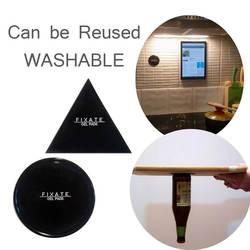 Мощный фиксатор гелевые подушечки прочное Приклеивание клей в любом месте стены стикеры может быть очищен неоднократно, один 1 шт. круг или