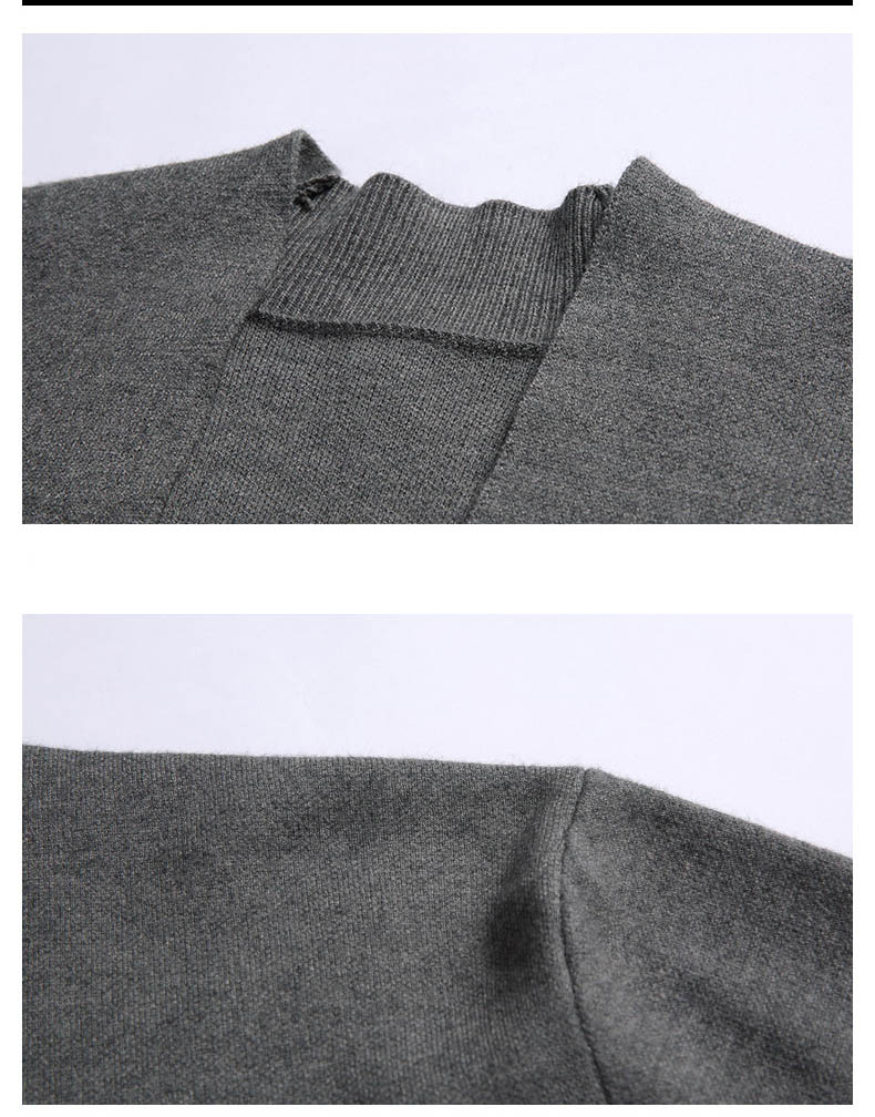 Plus Size 3XL 2018 autumn mens knitted cardigan sweaters V neck Long Sleeve jumper cardigan for men knitwear sweaters hombrLX241