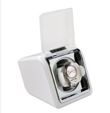 Nueva JA078 Jebely Automática de Tiempo Individual Rights Watch Winder 1 turner Blanco
