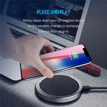 ROCK W4 Quick Wireless Charger For iPhone 8 X Samsung Galaxy S8 Note 8 Plus