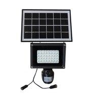 HD 720 P солнечный светильник PIR видеорегистратор с детектором движения и 40 шт. свет и 2 Вт Солнечный мощность Панель ip54 Водонепроницаемый для Д