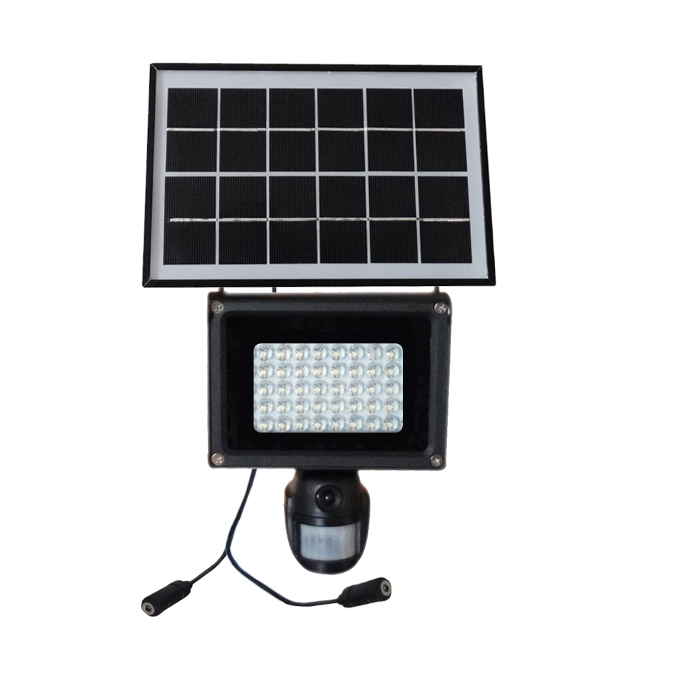 HD 720P Solar Lamp PIR DVR with Motion Detection & 40pcs of LED Light & 2W Solar Power Panel IP54 Waterproof for Home & Garden dad pocket fob watches chain luxury black
